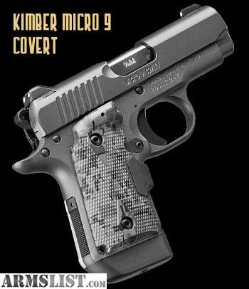 Armslist For Sale New Kimber Micro 9mm Sapphire - Modern