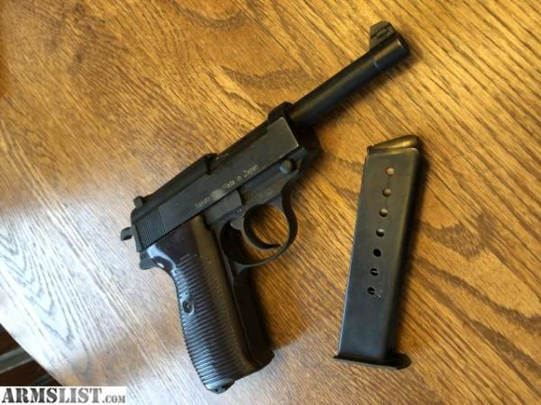ARMSLIST - For Sale/Trade: Nakata Japanese Walther P38 ...