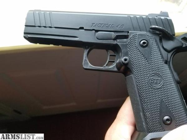 ARMSLIST - For Sale/Trade: STI 4.0 Tactical 2011 9mm