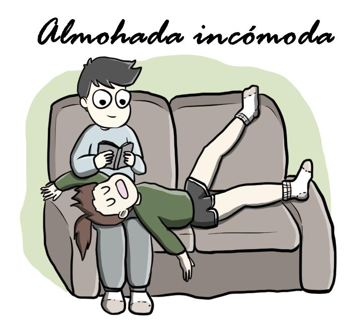 Almohada incómoda