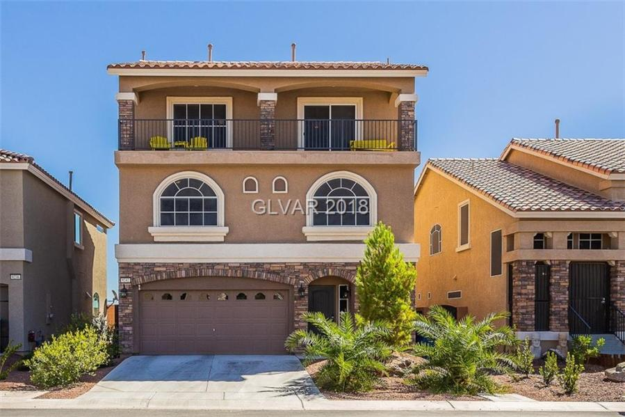 3 Story Homes For Sale 9242 MIDNIGHT CELLARS Street  Las Vegas  NV 89139