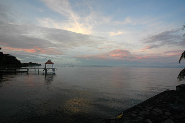A view of Lake Nicaragua. Photo by: Zach Klein.