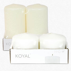 Pillar Candles Choice of Sizes
