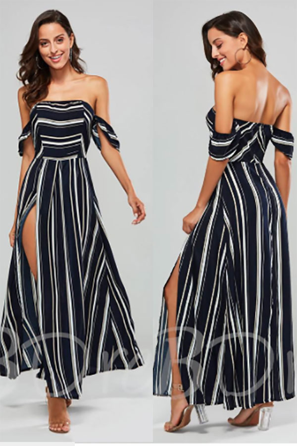 Women's long a-line dress. I love the drop sleeves and open back. Cute dress to wear as a wedding guest. Tap and look for it as the first or second buy listing. In the My Online Wedding Help products section. #SpecialOccasionDresses #MyOnlineWeddingHelp #WomensLongDresses #ALineDresses #LongDresses #WomensDresses