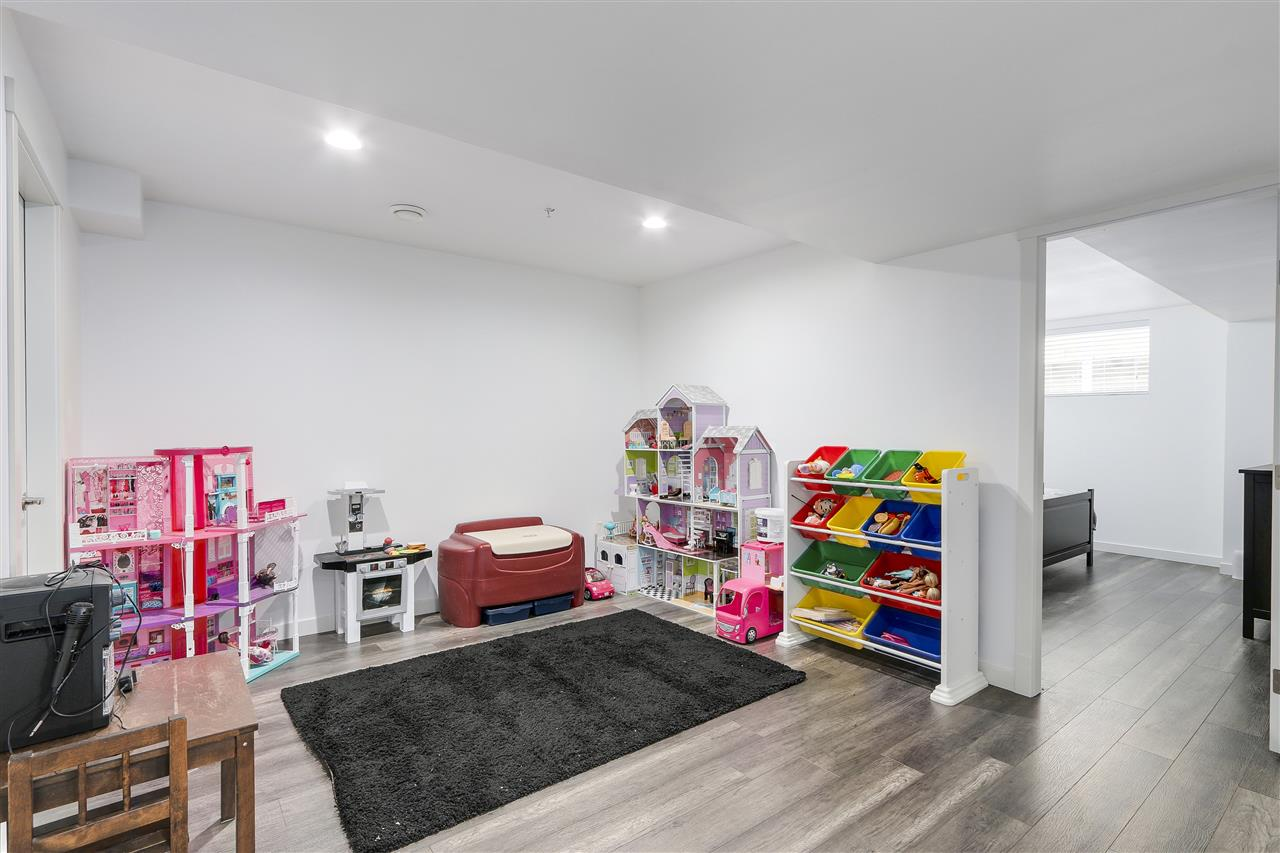 Can be the basement suite's kitchen area