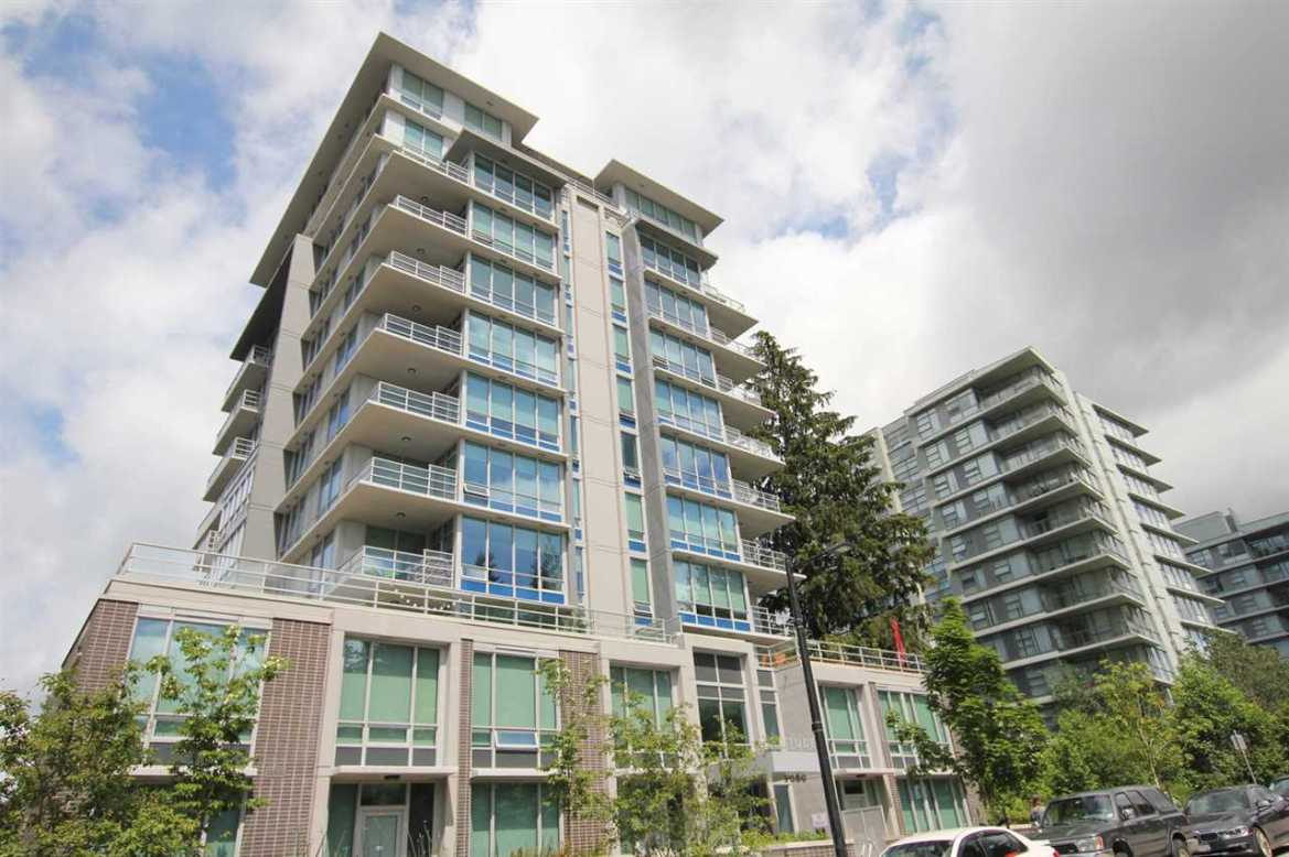 Main Photo: 1203 9080 UNIVERSITY Crescent in Burnaby: Simon Fraser Univer. Condo for sale (Burnaby North)  : MLS(r) # R2178345