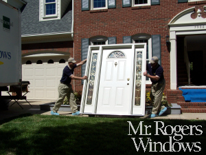 Replacement door and Sidelights