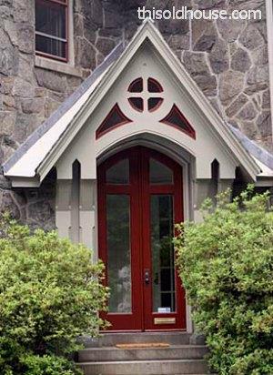 exterior paint color for door