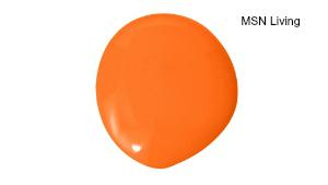 paint color orange MSN Living