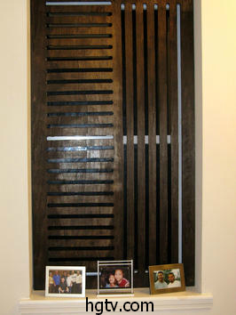 wooden privacy screen for windows
