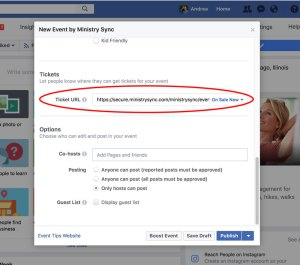 Create an event to market on Facebook
