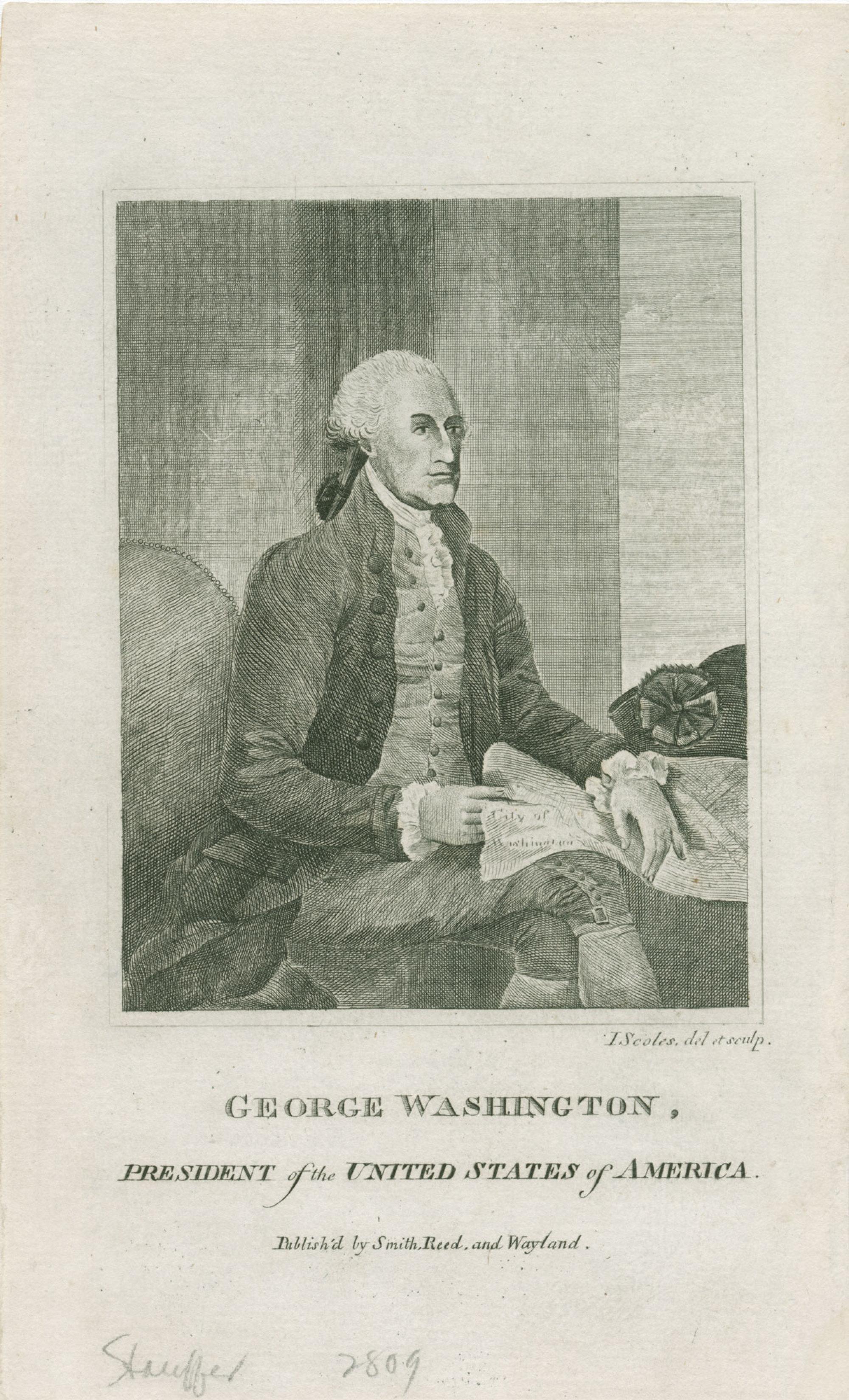 George Washington President Of The United States Of