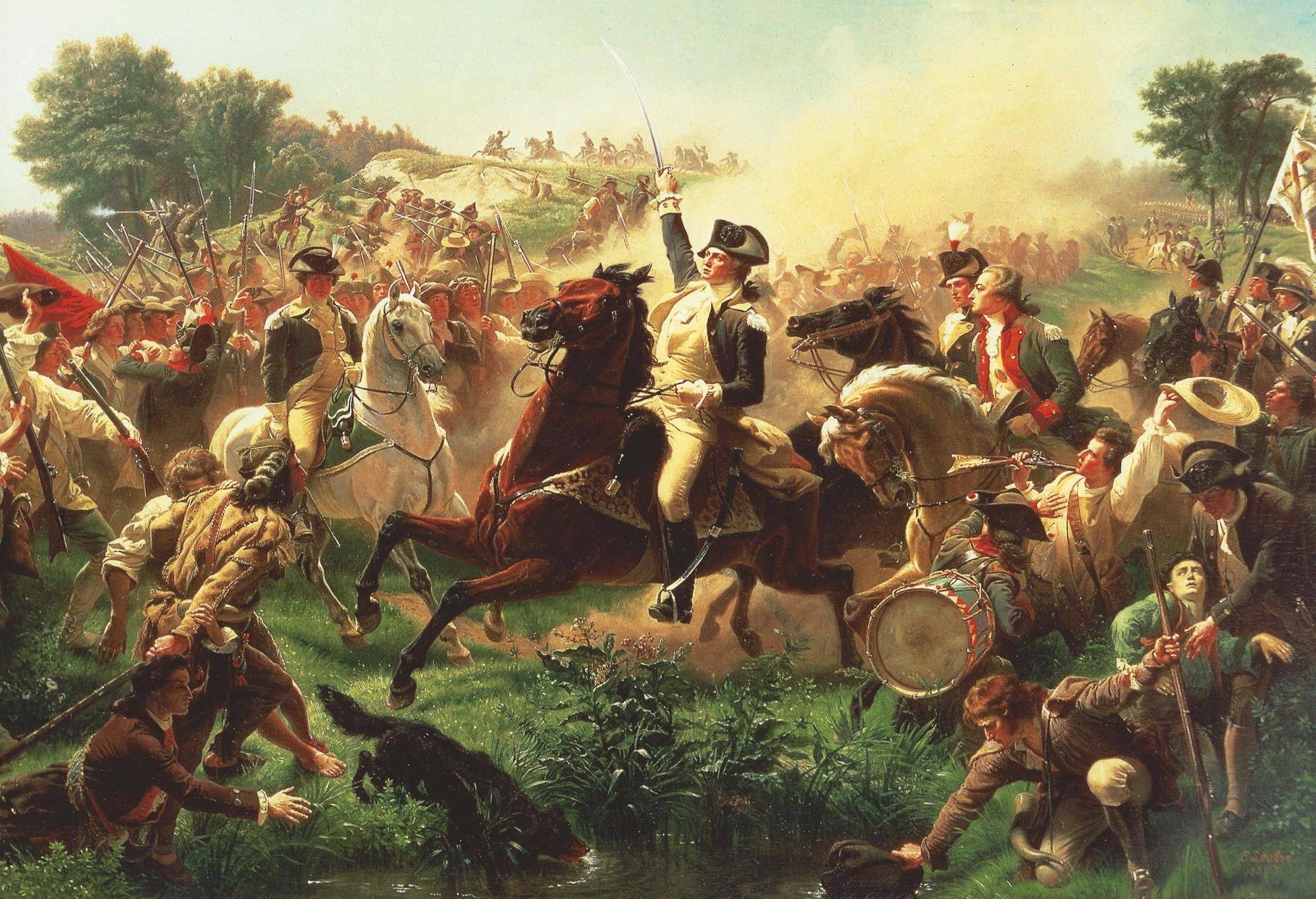 Washingtons Revolutionary War Battles George Washington