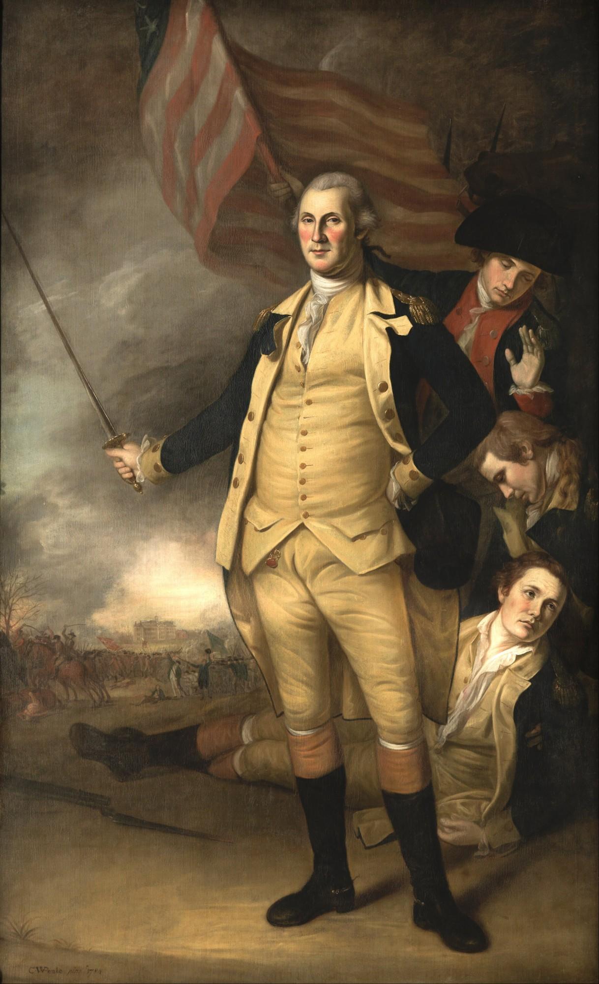 Life Portraits Of George Washington George Washington S