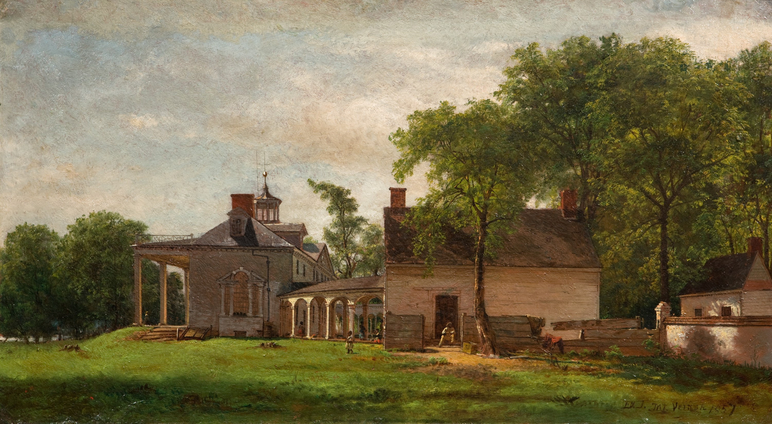 Image result for The Old Mount Vernon, 1857