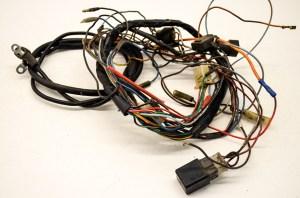 87 Yamaha Moto4 200 Wire Harness Electrical Wiring YFM200 2x4