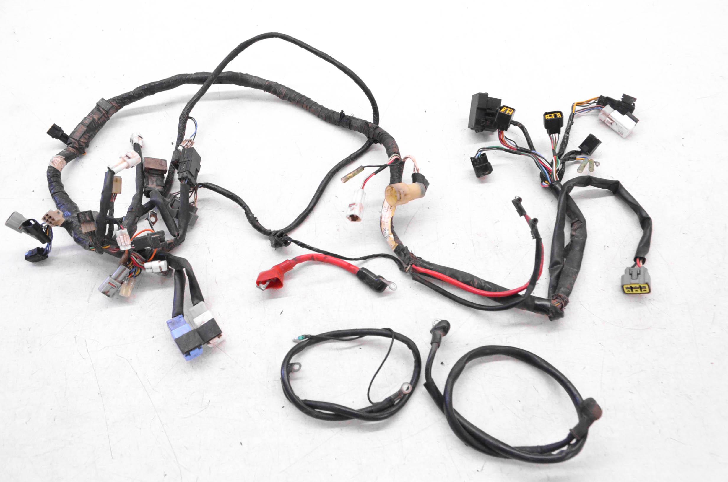 08 Yamaha Big Bear 350 Wire Harness Electrical Wiring