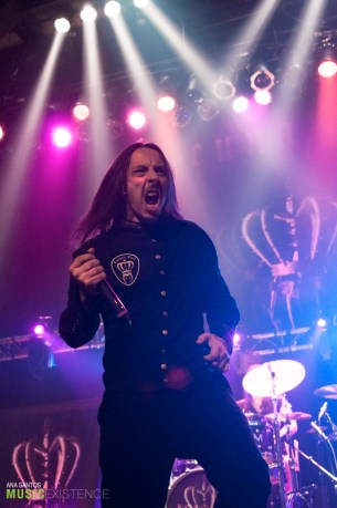 Lacuna Coil live at the Gramercy Theater, NYC. 10.12.14