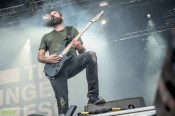 The Dillinger Escape Plan at Nova Rock 2017