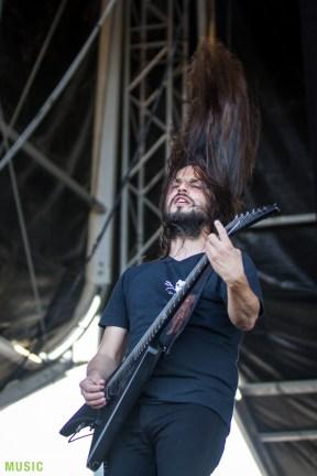 Gojira at Nova Rock 2017