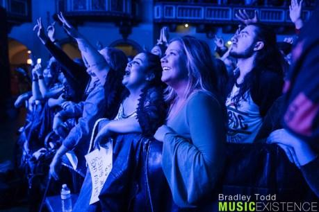 Greta Van Fleet Crowd - Chicago, IL. 12/12/18 (Photo by Bradley Todd)