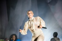 Maluca with Robyn at Barclays Center