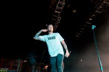 Justin Stone came out to do some guest vocals during I Prevail's set