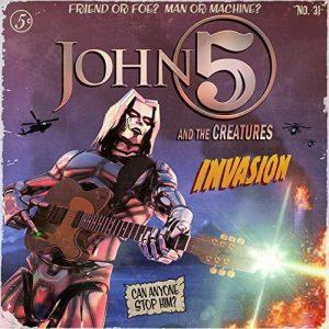 """Album Review: John 5 & The Creatures """"Invasion"""" – Music"""