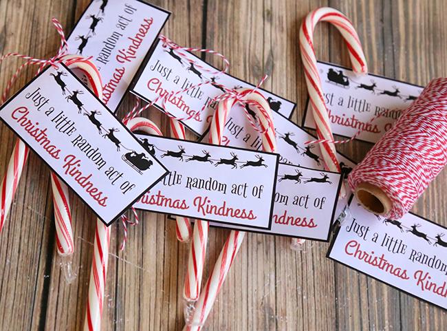 Random Acts Of Christmas Kindness Printable MyPrintly