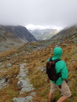 """Taking a hike up """"Dill Valley"""" in the High Tatra Mountains"""