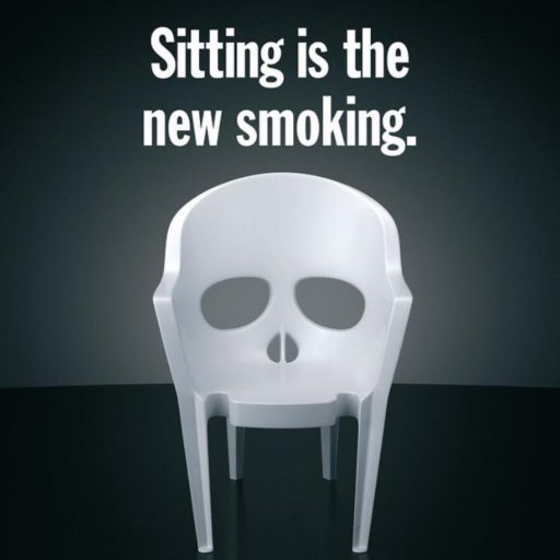 Sitting is the new smoking. Use a bike desk and exercise while you sit instead.