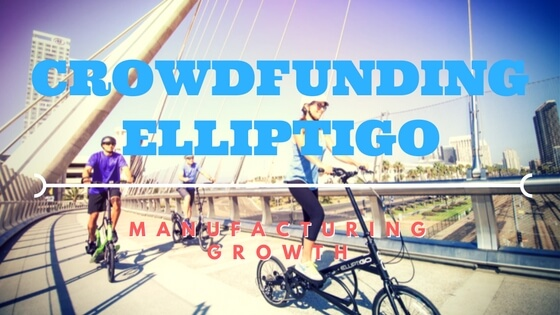 Outdoor Elliptical Bicycle Manufacturer ElliptiGO Crowdfunds Growth