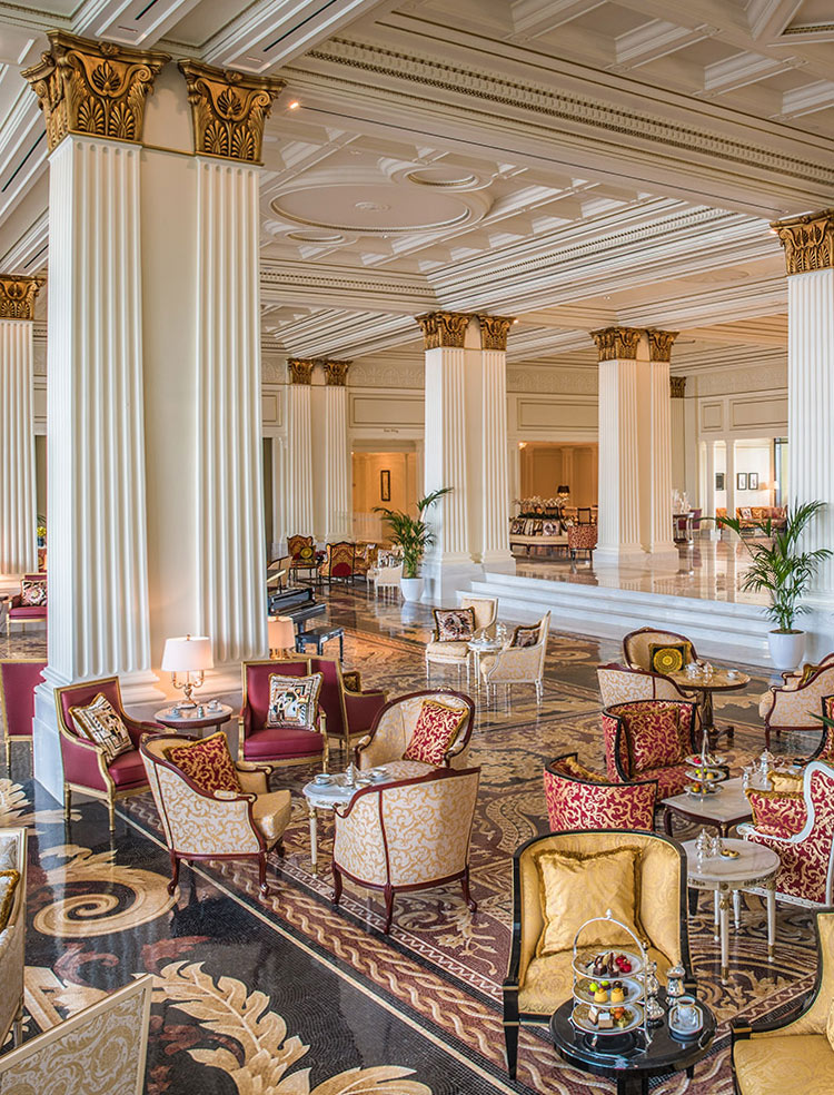 NEONSCOPE The Exquisite Palazzo Versace Dubai Hotel