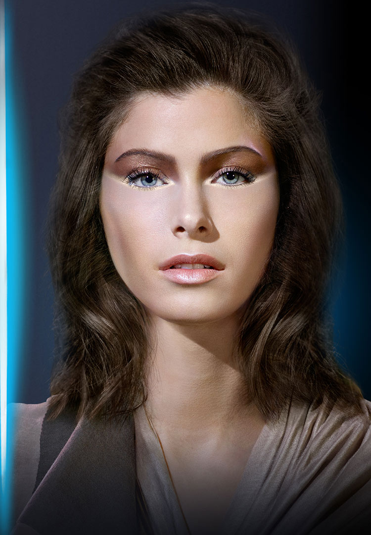 Covergirl Star Wars Makeup Look Jedi