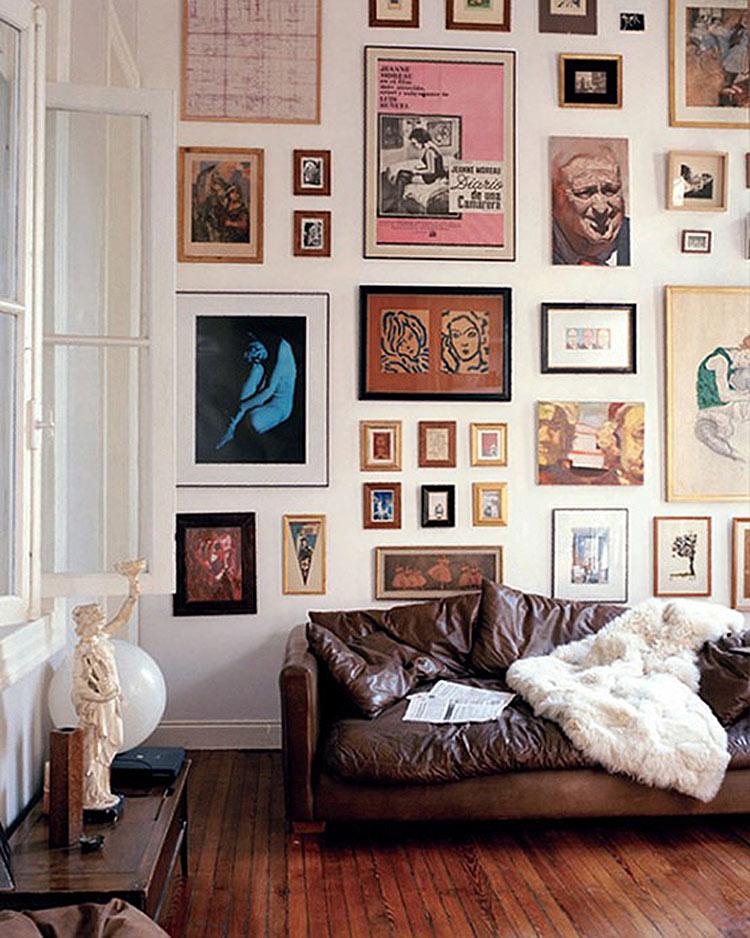 NEONSCOPE - 10 Creative Gallery Wall Ideas on Creative Wall Ideas  id=91497