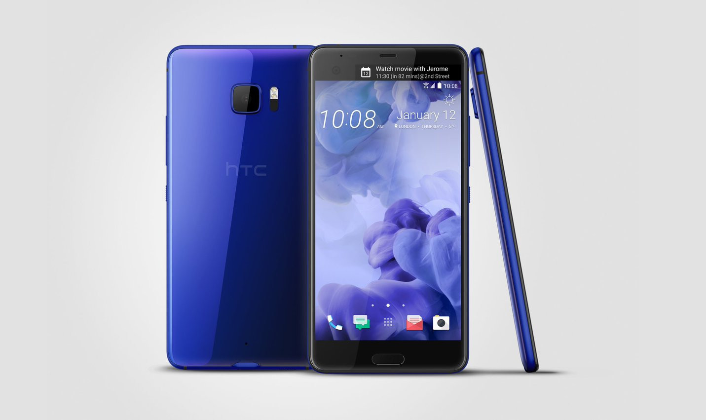 HTC U Ultra flagship with 128GB storage and sapphire glass to launch next month for $920 - Neowin