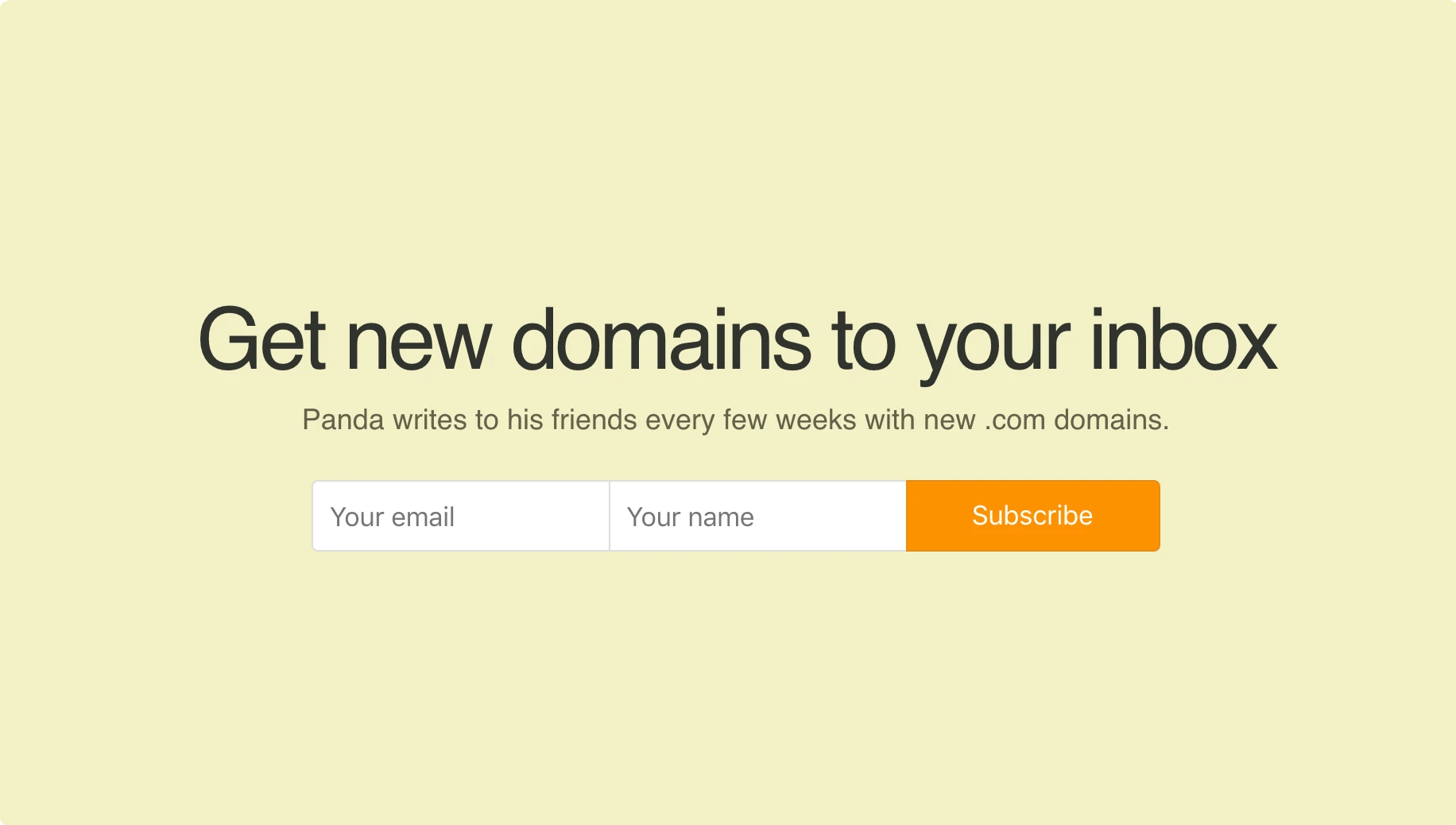 Email newsletter signup sheet doc: 7 Outstanding Newsletter Signup Examples Neverbounce