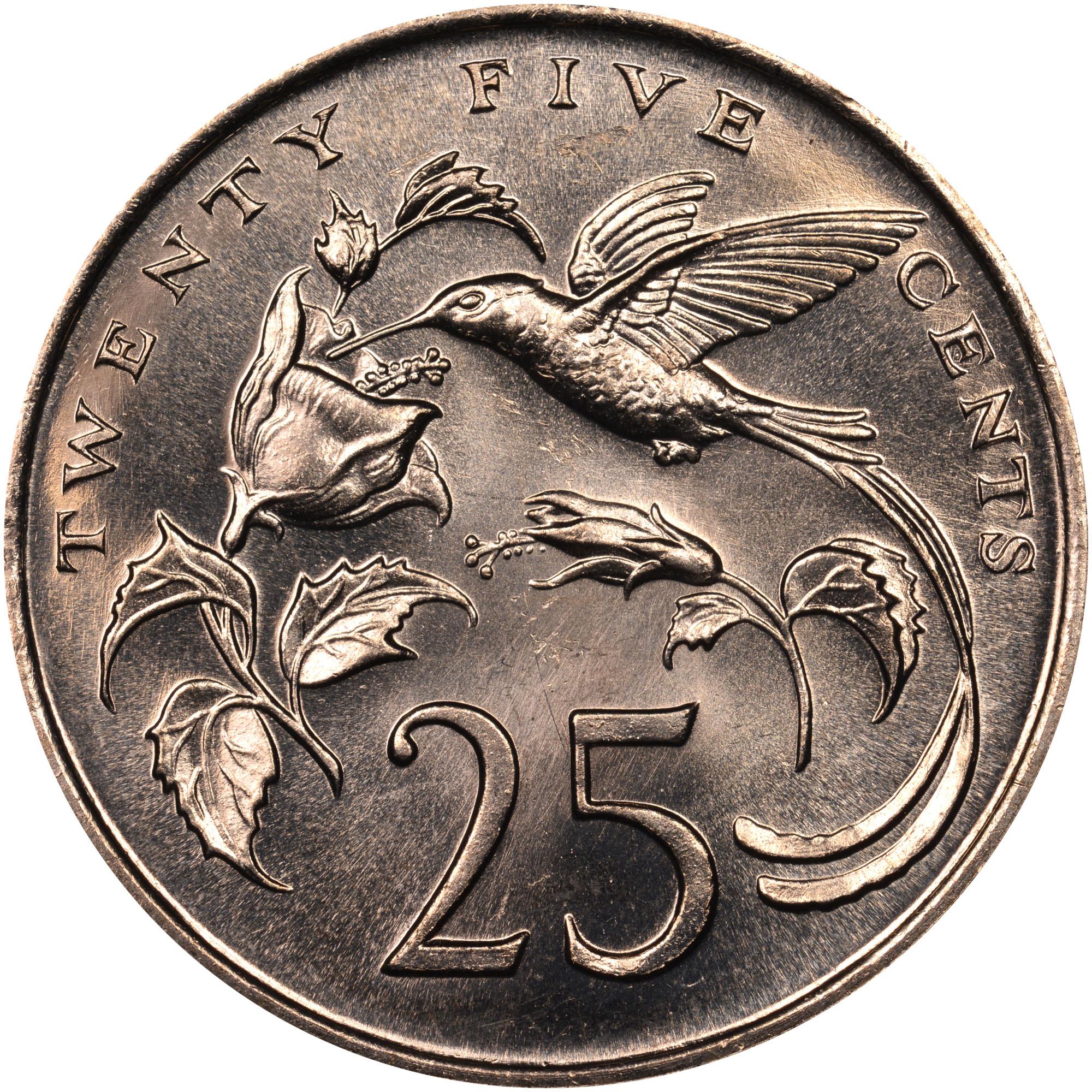 Jamaica 25 Cents Km 49 Prices Amp Values