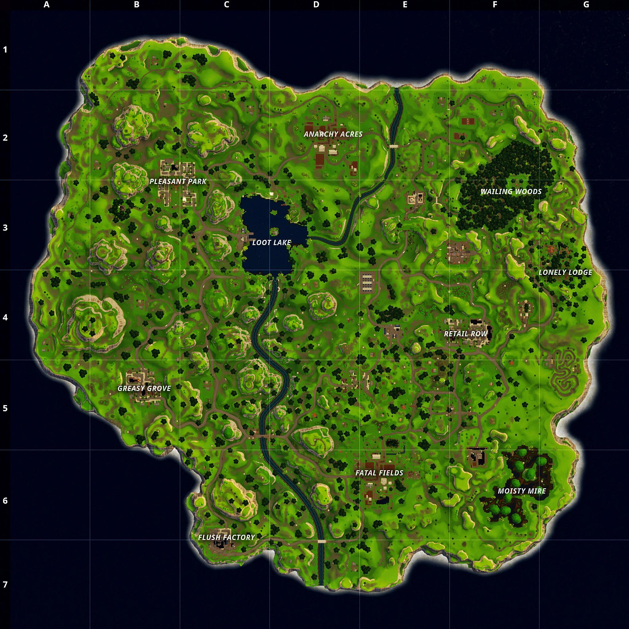 Fortnite Battle Royales New Map An Overview And Review