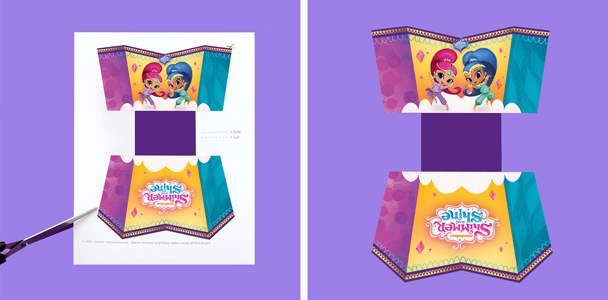 Shimmer And Shine Popcorn Holder Nickelodeon Parents