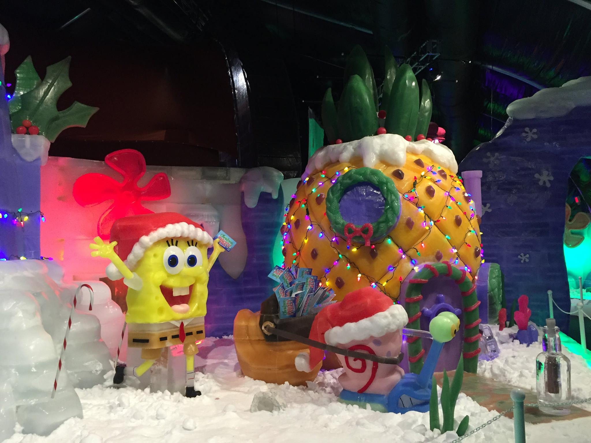 Bikini Bottom Gets An Icy Makeover In Ice Land With