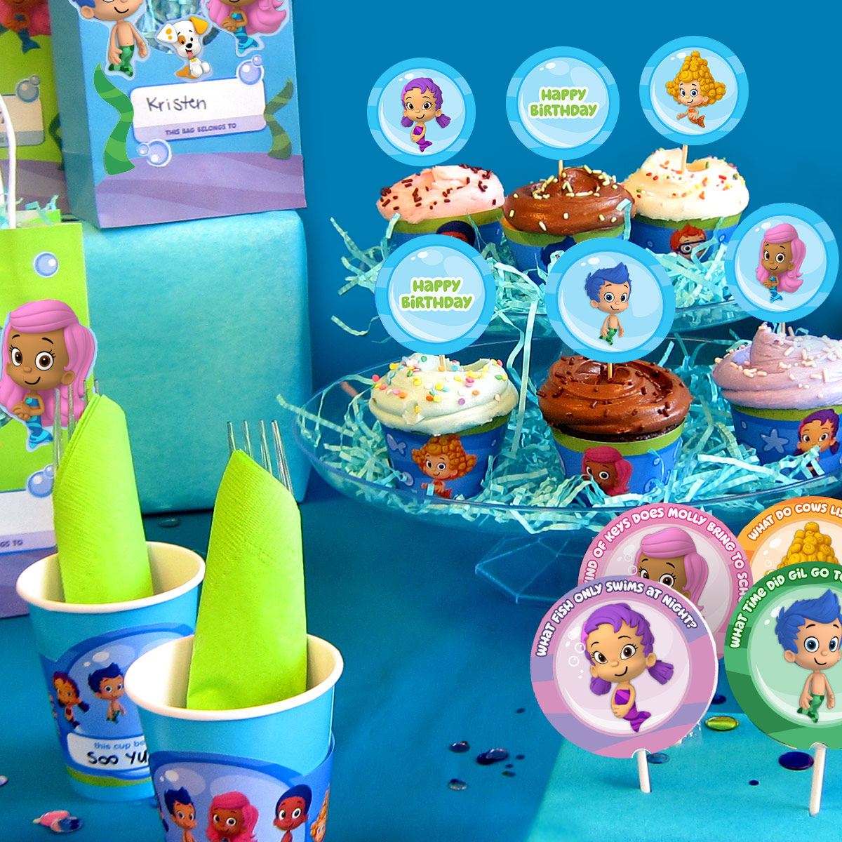 Bubble Guppies Party Day Planner
