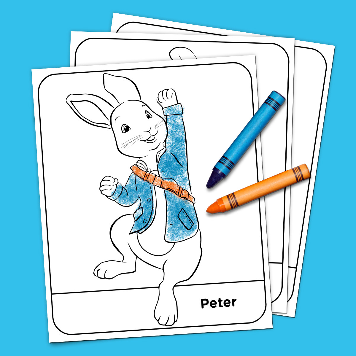 Peter Rabbit Coloring Pack