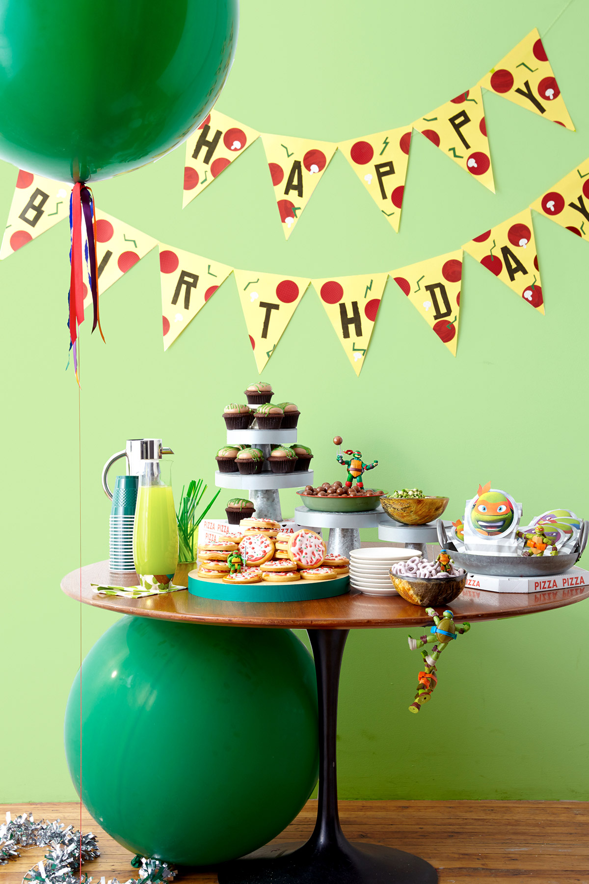 Throw A Ninja Turtles Birthday Party