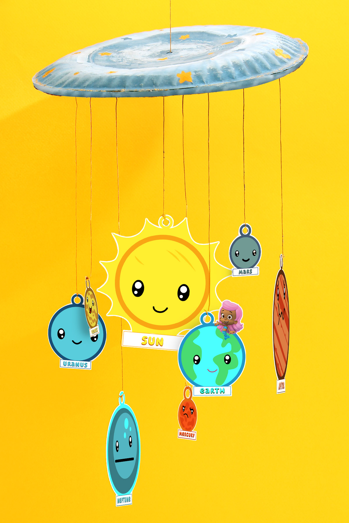 Bubble Guppies Solar System Craft