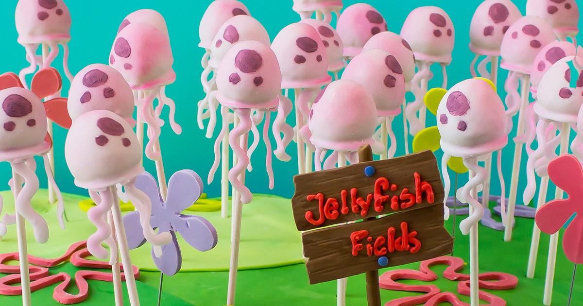 SpongeBob Jellyfish Cake Pops Nickelodeon Parents
