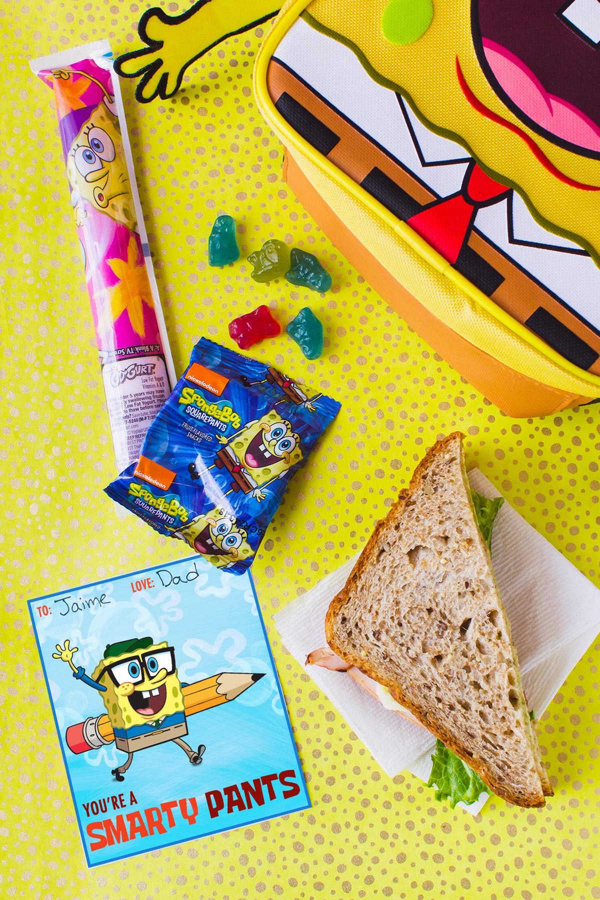Pack A Spongebob Lunch Box