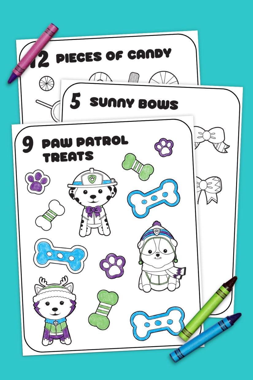 12 days of nick jr. coloring book | nickelodeon parents