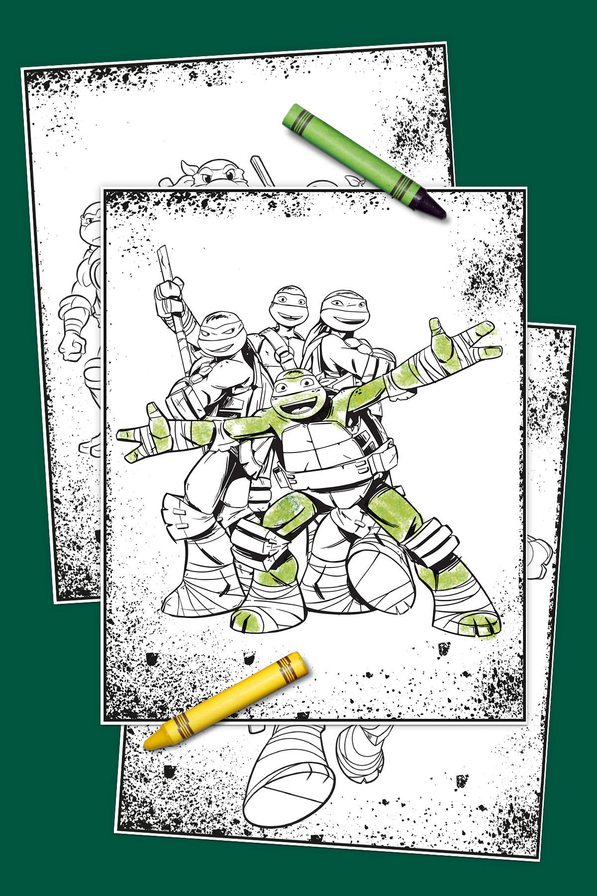 Tmnt Coloring Pages