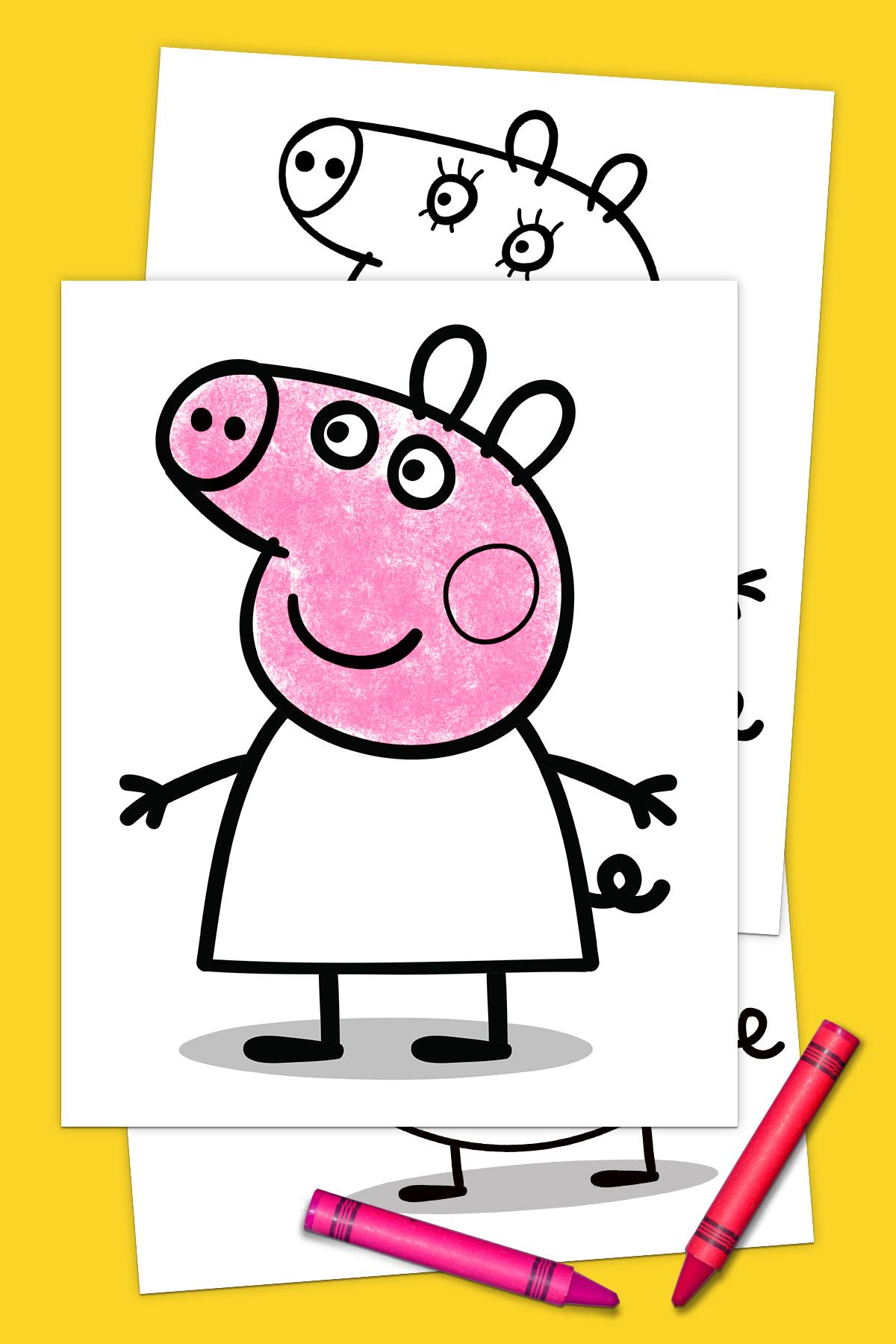 Peppa Pig Coloring Pack Nickelodeon Parents